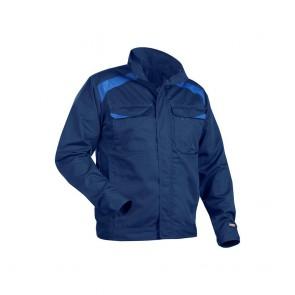 Veste de travail Blaklader Industrie 100% coton 320g Marine/Bleu avant