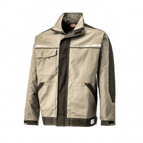 Veste de travail Dickies GDT Premium Jacket beige noir