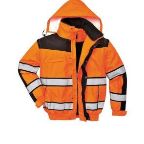 Blouson Haute Visibilité 3en1 Portwest HiVis orange