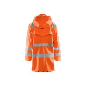 Veste de pluie Haute visibilité Blaklader étanche et coupe-vent