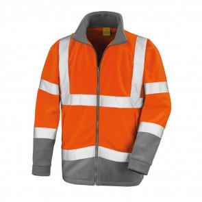 Veste polaire haute visibilité Result Safety MicroFleece Classe 2
