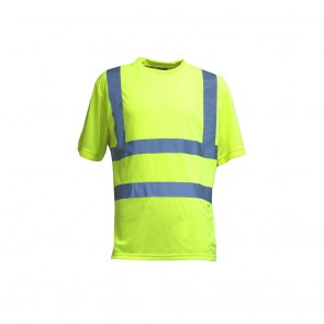 Tee shirt haute visibilité LMA Gyrophare