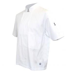 Veste de cuisine manches courtes LMA Merlu 100% coton