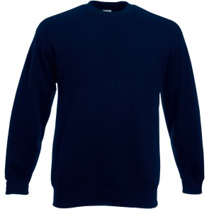 Sweat-shirt manches droites Fruit Of The Loom Deep Navy
