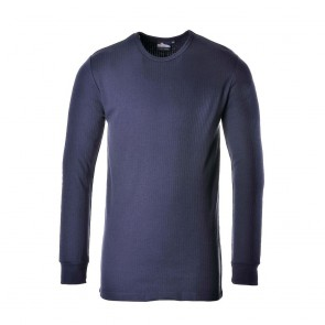 Tee-shirt Thermique Manches Longues Portwest - Marine 1