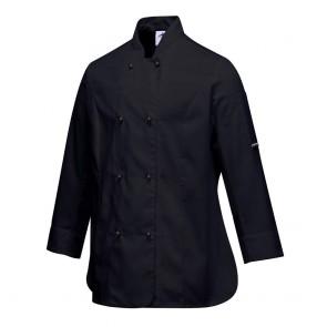 Veste de cuisine Femme Portwest Rachel - Noir 1