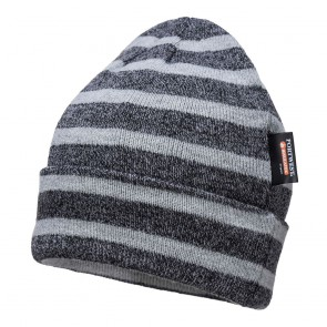 Bonnet tricoté à rayures Portwest Insulatex
