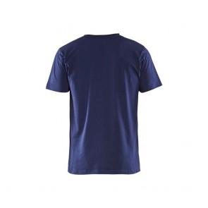 T-shirt Col V Homme Blaklader 210g