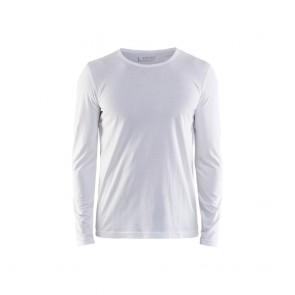 T-shirt manches longues Blaklader Blanc