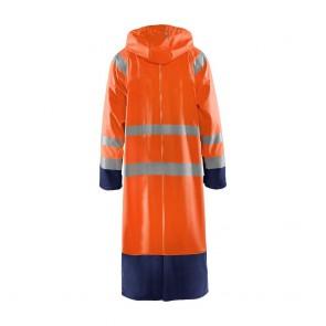 Manteau de pluie imperméable Blaklader Haute Visibilité Classe 3