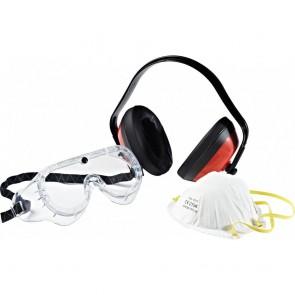 Kit de protection Masque + casque + lunettes Dickies