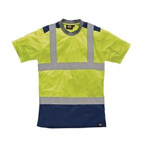 T-shirt de travail haute visibilité Bicolore Dickies