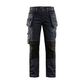 Pantalon de travail artisan femme Blaklader X1900 stretch Avant