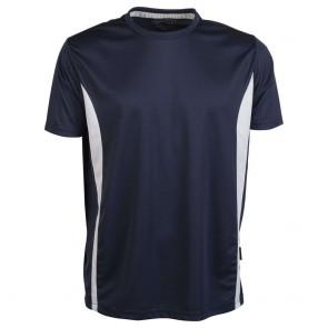 Tee-shirt respirant Penduick Sport tee marine blanc