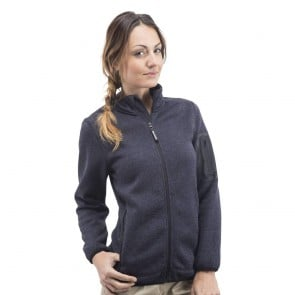 Veste polaire tricotée femme Penduick Cruise