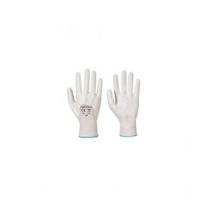 Gants nylon Portwest Enduits 3/4 PU Ultra A122 blancs