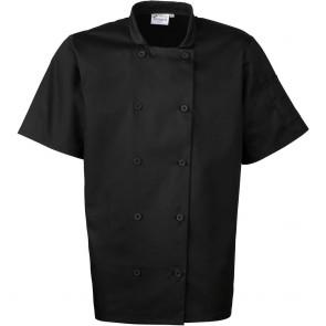 Veste mixte de cuisine manches courtes