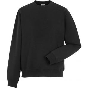 Sweat-shirt de travail manches droites Russell - noir