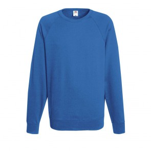 Sweat-shirt léger manches raglan Fruit Of The Loom Lightweight