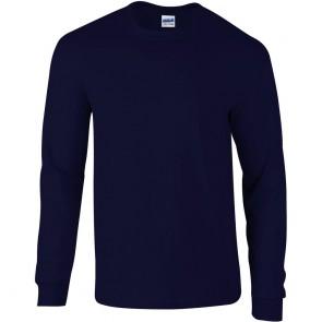 T-shirt manches longues ultra coton Gildan marine