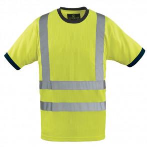 T-shirt haute visibilité Coverguard Yard Col rond