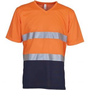 T-shirt haute visibilité Yoko Top Cool Col V