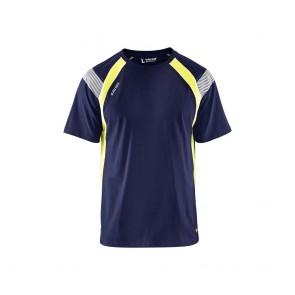 T-Shirt haute visibilité Homme Blaklader marine
