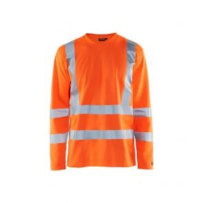 T-shirt manches longues haute visibilité Blaklader orange