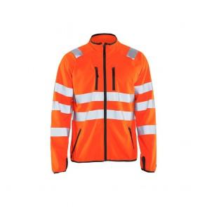 Veste softshell haute visibilité Blaklader orange