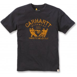T-shirt de travail Carhartt manches courtes Noir