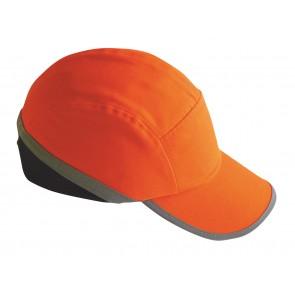 Casquette anti-heurt Haute Visibilité Portwest orange