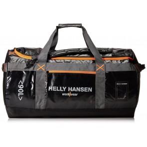 Sac Duffel 90L Helly Hansen noir orange