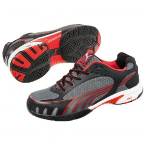 Baskets de sécurité basses femme Puma Fuse Motion Red S1 HRO SRC
