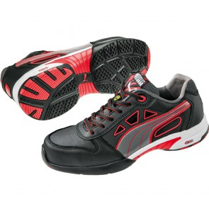 Baskets de sécurité basses femme Puma Stream Red S1 ESD HRO SRC