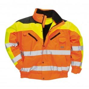 Blouson haute visibilité Contrast Plus Portwest Orange