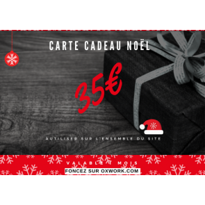 Carte cadeau Noël 35€