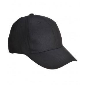 Casquette type baseball Portwest noir