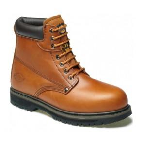 Chaussures de sécurité montantes Cleveland Dickies Châtaigne