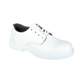 Chaussures de sécurité Portwest S2 SRC à lacets blanche
