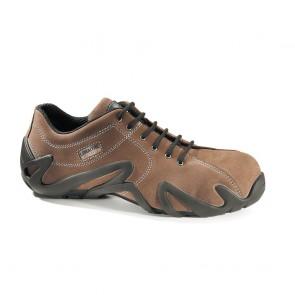 Chaussure de sécurité basse Lemaitre S2 Easybrown SRC brun