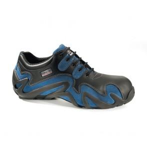 Chaussure de sécurité basse Lemaitre S2 Wildblue SRC noire bleu
