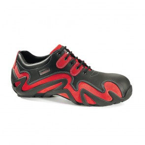 Chaussure de sécurité basse Lemaitre S2 Wildred SRC noire rouge