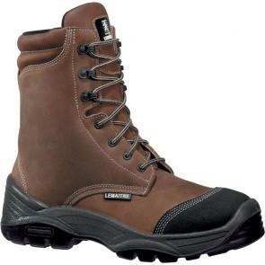 Chaussure de sécurite haute Lemaitre S3 Joran SRC marron
