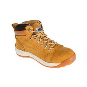 Chaussures de sécurité Portwest SB HRO Mi-Brodequin Nubuck Steelite miel