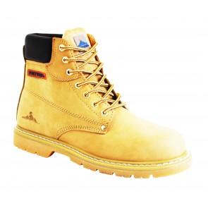 Chaussures non sécurité Portwest Brodequin cousu Goodyear OB - Miel