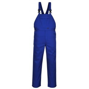 Cotte à bretelles burnley Portwest Workwear bleu royal