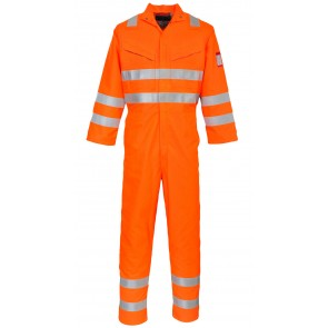 Combinaison Portwest hi-vis multirisques ara-flamme Orange