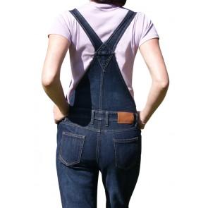 Cotte à bretelles / salopette jean femme Kristina LMA