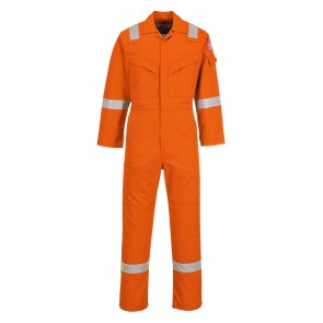 Combinaison flamme résistant et antistatique Portwest Bizflame Orange