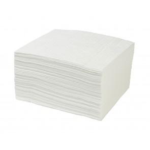 Lot de 200 tapis absorbants uniquement les huiles blanc